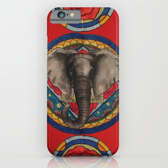 Elephant Mandala iPhone & iPod Case