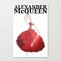Alexander McQueen 2 Canvas Print