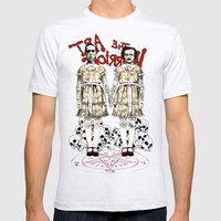 Evil Twins Mens Fitted Tee Ash Grey SMALL
