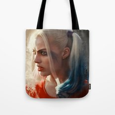 Harley Quinn (suicide squad) Tote Bag