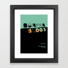 Surfer Blood Framed Art Print