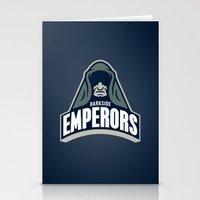 DarkSide Emperors -Blue Stationery Cards