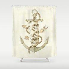 Three Missing Pirates Shower Curtain