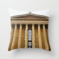Art Museum Throw Pillow