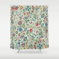Frutos Shower Curtain