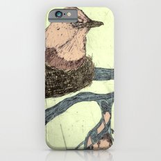 Bird Etching iPhone 6 Slim Case