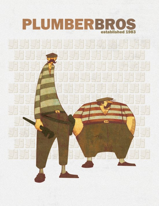 Plumber Bros. Canvas Print