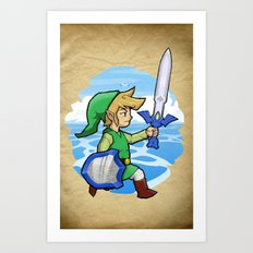 Link, The Wind Waker Art Print