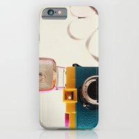 iPhone Cases featuring Lomo Love by basilique