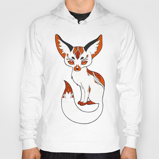 Mysterious Fox Hoody