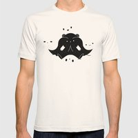 IMMIGRANT BEARS Mens Fitted Tee Natural SMALL