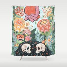 Shower Curtain - Till Death Do Us Part - Angela Rizza