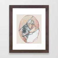 14/02 : Love Triangle  Framed Art Print