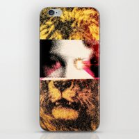 Lady Lion iPhone & iPod Skin