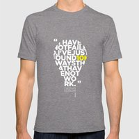 Esperantos Quotes #2 (To… Mens Fitted Tee Tri-Grey SMALL