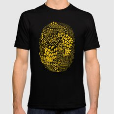 lifecycle Mens Fitted Tee Black SMALL