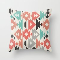 Caleido Triangle Throw Pillow