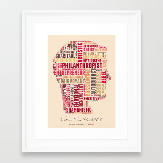 Version  Two Point O Framed Art Print