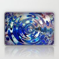 Water Element Ripple Pat… Laptop & iPad Skin