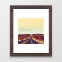 Midwestern Stretch Framed Art Print