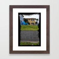 House On The Esplanade Framed Art Print