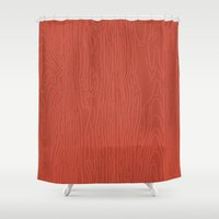 Barnwood Shower Curtain