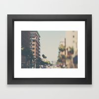 the Taft Building ... Framed Art Print