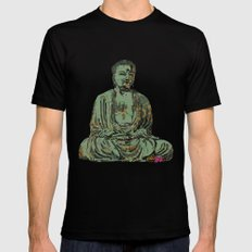 The Big Buddha SMALL Mens Fitted Tee Black