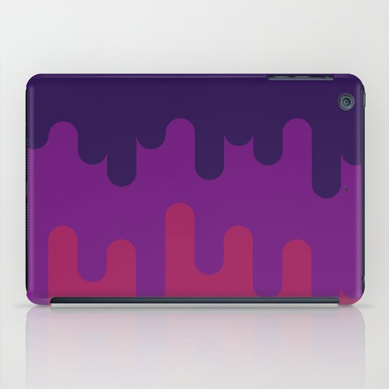Drips and Drops - Pink iPad Case