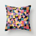 Pixels Throw Pillow