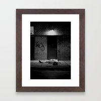 The City 2: A Mother's Son Framed Art Print