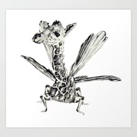 Fly fly fly Art Print