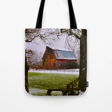 Remnants of a Simpler Time - The Barn Tote Bag