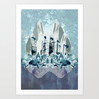Crystal City Art Print