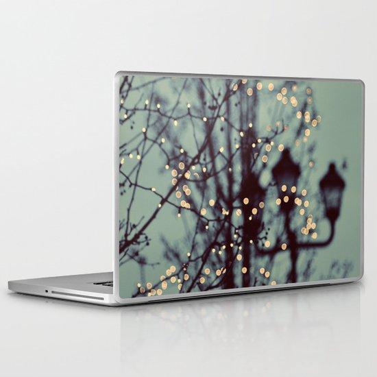 Winter Lights Laptop & iPad Skin