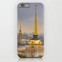 iPhone & iPod Case featuring Saint Petersburg Admiralty by LudaNayvelt