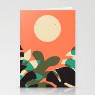 Jungle Sun #2 Stationery Cards
