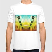 Paradise Awaits Mens Fitted Tee White SMALL