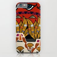 Walking Egyptian Pattern iPhone 6 Slim Case