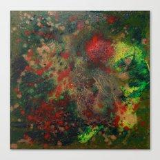 Biomorphic Pool 4 Canvas Print