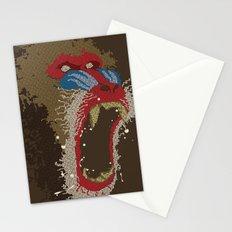 Mandrillus sphinx Stationery Cards