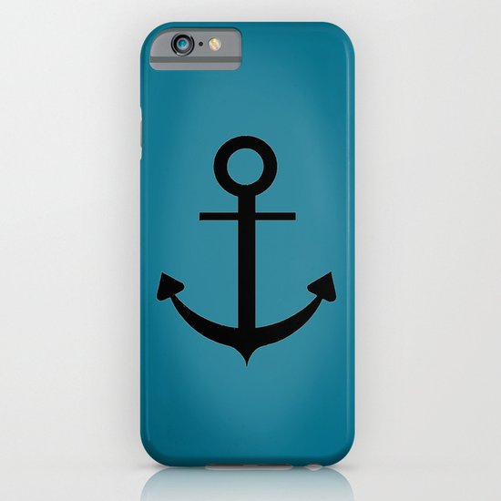 Blue Anchor iPhone & iPod Case