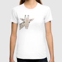 giraffe T-shirts featuring Giraffe by Kayla Cole