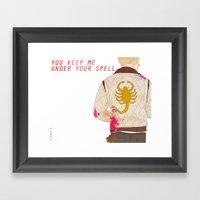 Drive (Under Your Spell) Framed Art Print