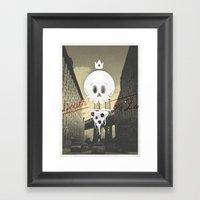 Death by 'Za Framed Art Print