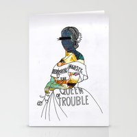 A P S Queen Stationery Cards