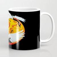 Japanese (Red-Crowned) C… Mug