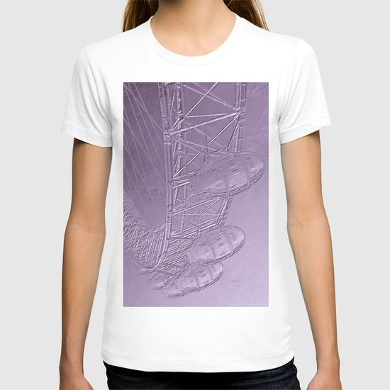 Embossed London Eye T-shirt