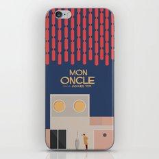 Mon Oncle - Jacques Tati Movie Poster iPhone & iPod Skin