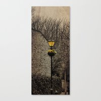 Old Lampost Canvas Print